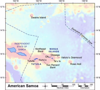 Map of the EEZ zone.