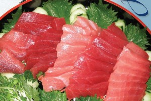 The Hawai'i longline fishery targets bigeye tuna for the sashimi- and fresh-fish domestic markets.