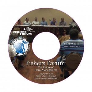 Fishers Forum: The Future of Honu Management (June 16, 2011) (2 hours and 10:33 Minutes)