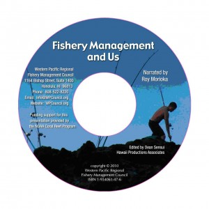 Fishery Management and Us DVD Label