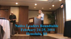 Native Leaders Roundtable