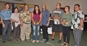 During the meeting, the Pacific Islands Fisheries Science Center, Western Pacific Regional Fishery Management Council and CNMI Department of Lands and Natural Resources recognized seafood vendors who are voluntarily assisting the Council and NMFS with collection of fishery data in CNMI that will help inform management of CNMI's fisheries.