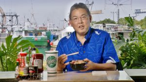 Picture of U.S. Representative Mark Takai from his recent appearance in the short video celebrating the 40th anniversary of the Magnuson-Stevens Fishery Conservation and Management Act and Hawaii's Fishing Industry